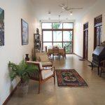 Sayura House villa, living room