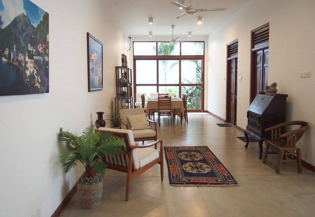 Sayura House villa, living room