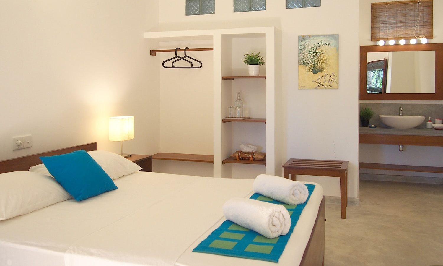 Sayura House, standard double rooms