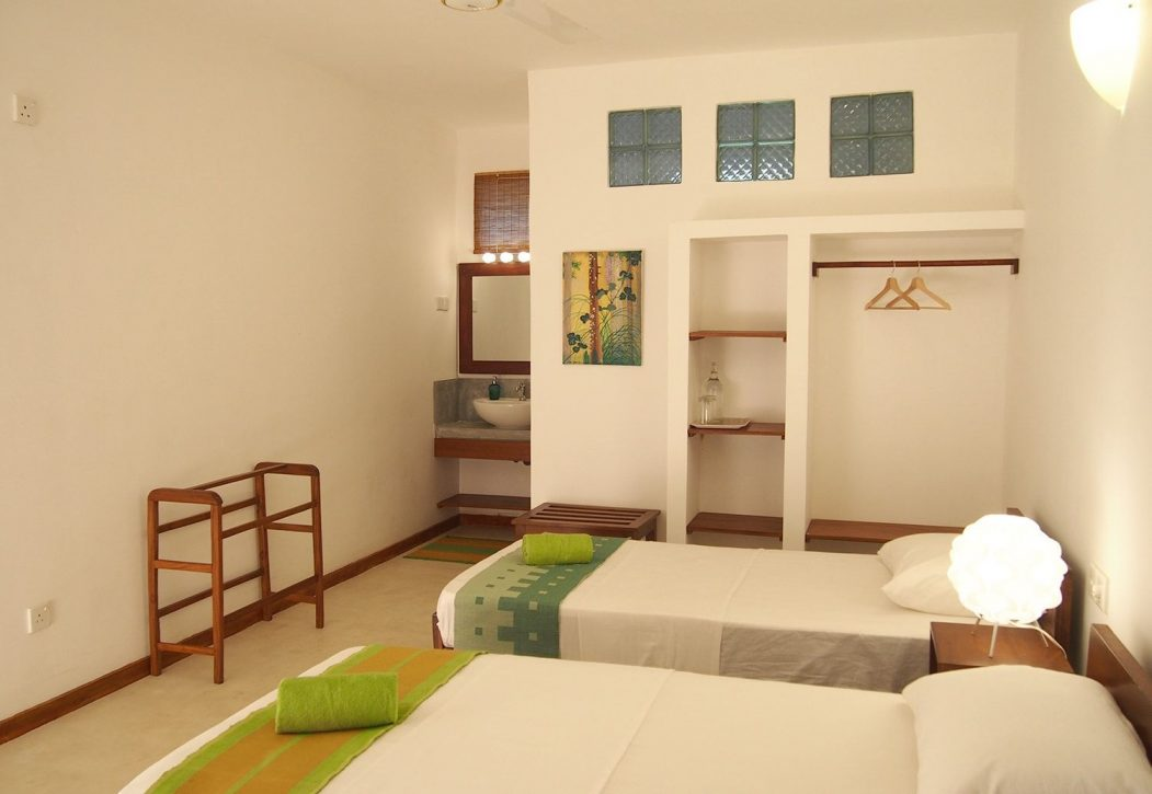 Sayura House, standard twin rooms