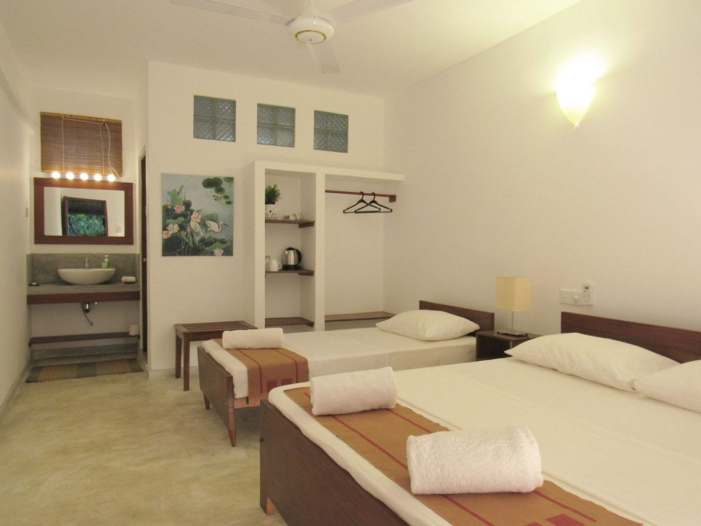 Sayura House, superior triple rooms