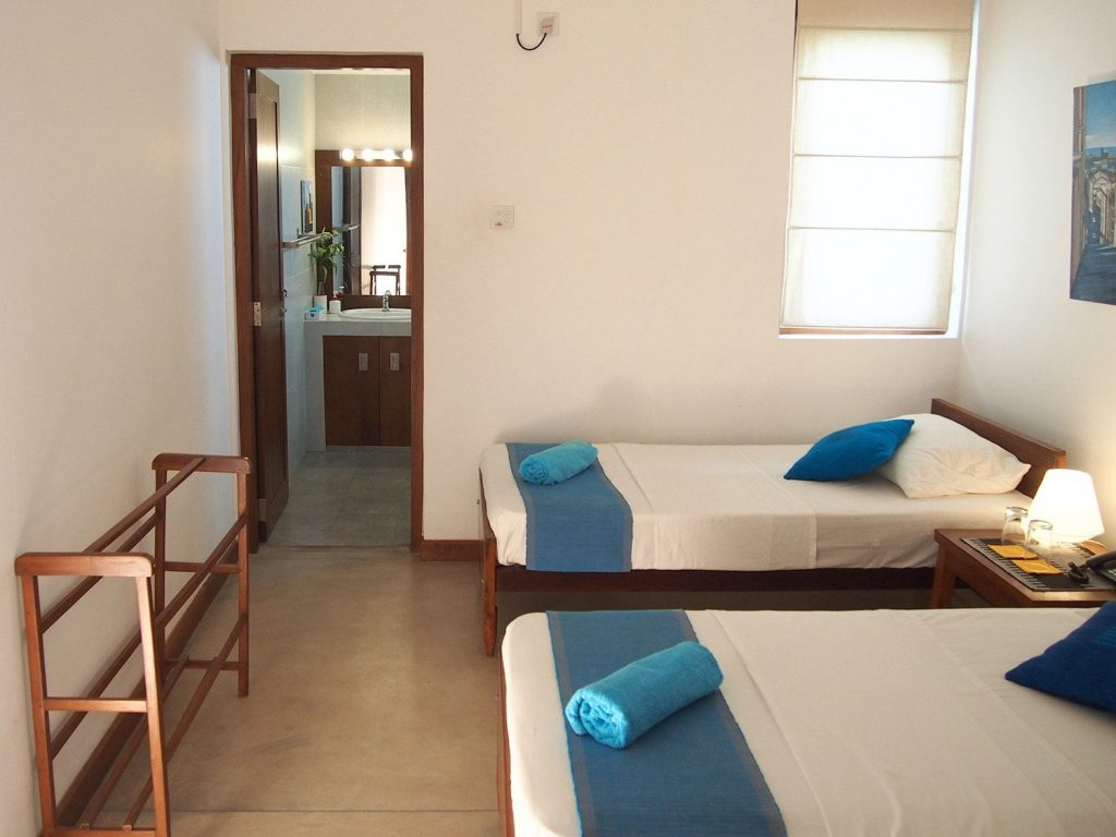 Sayura House, deluxe twin room